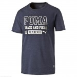 TRICOU ORIGINAL PUMA STYLE ATHL HEATHER TEA - 836545 06