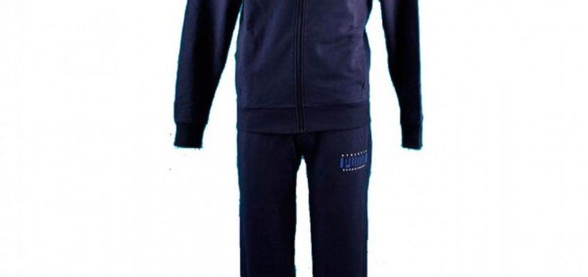 TRENING ORIGINAL PUMA MENS HOODED SWEAT SUIT - 591676 01
