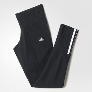 PANTALONI FITNESS ORIGINALI ADIDAS ESS MID 3S TIGHT - S18820