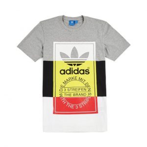 TRICOU ORIGINAL ADIDAS PANEL TONGUE TEE - BQ3140