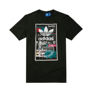 TRICOU ORIGINAL ADIDAS EDITORIAL TONGUE - BP8982