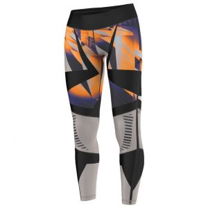 PANTALONI FITNESS ORIGINALI ADIDAS WOW DROP1 TIGHT - AP9532